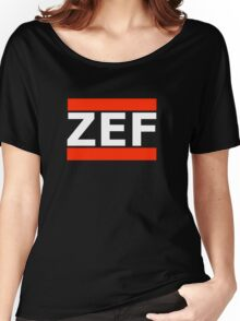 ZEF Women's Relaxed Fit T-Shirt