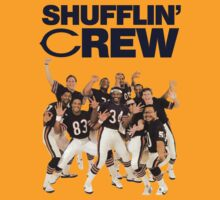 Chicago Bears Super Bowl Shufflin' Crew (Dark Text) by shakdesign