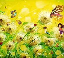 The Dandelion Dream by May Ann Licudine