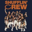 Chicago Bears Super Bowl Shufflin' Crew (Orange Text) by shakdesign