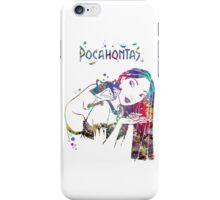 Pocahontas Disney Princess and Meeko Watercolor iPhone Case/Skin