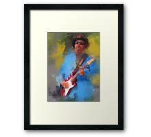 """Jimi """"Prime Time"""" Smith Framed Print"""