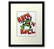 Raph 'N Roll Framed Print