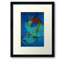 Descending to the Planet Zorg Framed Print