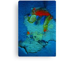 Descending to the Planet Zorg Canvas Print