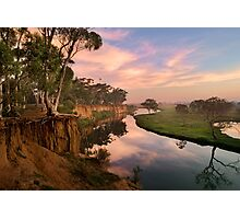Peaceful dawn at Werribee Park Photographic Print