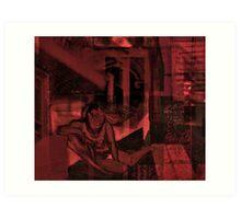 HOPPER AND KAHLO and Alvarez Bravo: Love me: a poem and a blend from Rhenastar and I  Art Print