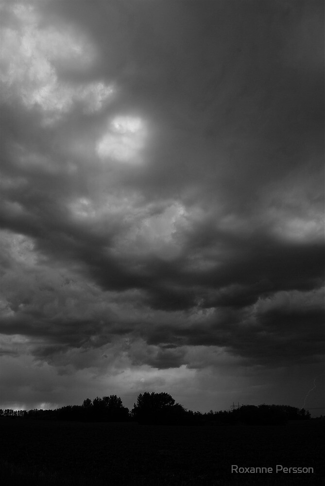 Foreboding - Alberta Skies by Roxanne Persson