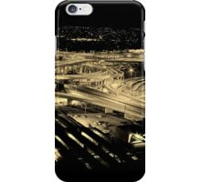 Mixed Motorways - Bowen Hills, Brisbane iPhone Case/Skin
