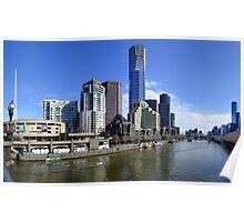 Melbourne Southbank Poster