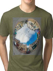 Kilcar Crossroads - Sky in Tri-blend T-Shirt