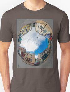 Kilcar Crossroads - Sky in Unisex T-Shirt