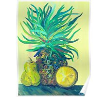 Pear and Pineapple Poster