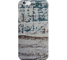 Old paint on timber iPhone Case/Skin