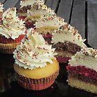 Neapolitan Cupcakes by v-something