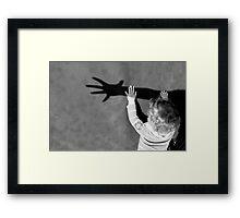 Catch My Shadow! Framed Print