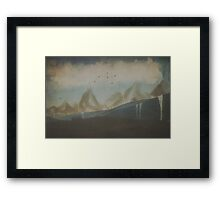 Tales from Ithilien Framed Print