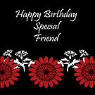 Special Friend Birthday card by sarnia2