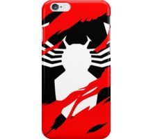 Secret Identity: Symbiote Spider Man iPhone Case/Skin
