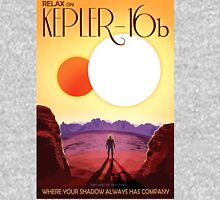 Retro NASA Travel Poster - Kepler 186f T-Shirt