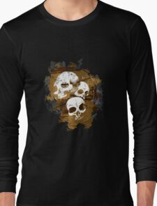 3Skulls Long Sleeve T-Shirt