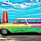 57 Chevy Nomad Wagon Best Part of Waking Up by ChasSinklier