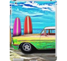57 Chevy Nomad Wagon Best Part of Waking Up iPad Case/Skin