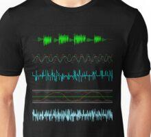 audio shirt Unisex T-Shirt