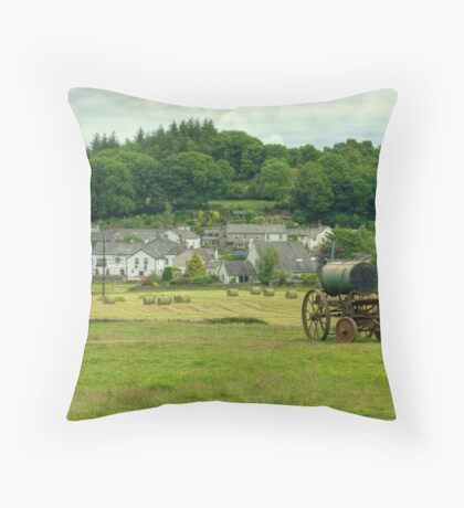Bouth ,Cumbria Throw Pillow