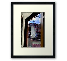 The Women's Building Reflected Framed Print
