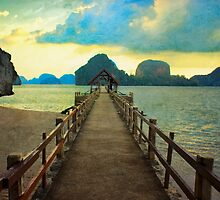 Thailand Dock by paulgrand