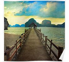 Thailand Dock Poster