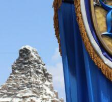 Disneyland 60th Diamond Anniversary and The Matterhorn Sticker