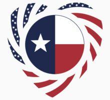 Texan American Murican Patriot Flag Series 2.0 by Carbon-Fibre Media