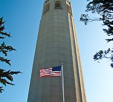 Coit Tower, San Francisco by Tim Topping