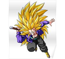 Trunks Super Saiyan 3 - Dragon Ball Z Poster