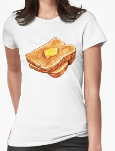 Butter Toast Womens Fitted T-Shirt