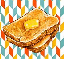 Butter Toast by Kelly  Gilleran