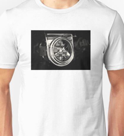 Gauge of Black and Steel Unisex T-Shirt