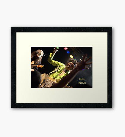 randy hansen Framed Print
