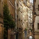 Paris, Rue de Bièvre by Hans Kool