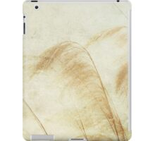 The Wind is Golden iPad Case/Skin