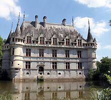 Château D'Azay-Le-Rideau by TheRoacH