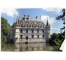 Château D'Azay-Le-Rideau Poster