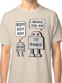 Beeping Robot Classic T-Shirt