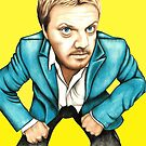 Eddie Izzard by Margaret Sanderson