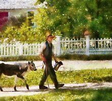 Cow - Bringing home Bessie by Mike  Savad