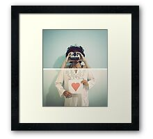 Through the Heart of a Photographer Framed Print