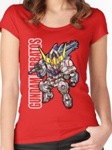 Iron Blooded Orphans Women's Fitted Scoop T-Shirt