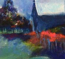 Summer Evening Walk by Liz Thoresen